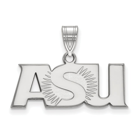 Sterling Silver LogoArt Arizona State University Large Pendant