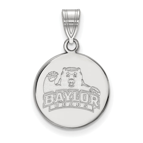 10kw LogoArt Baylor University Medium Disc Pendant