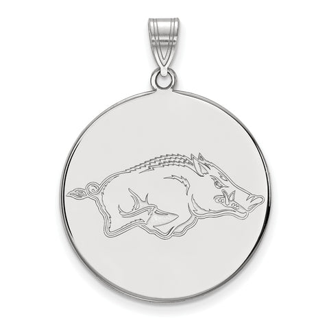 10kw LogoArt University of Arkansas XL Disc Pendant