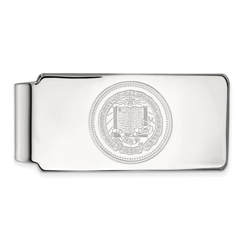 10kw LogoArt University of California Berkeley Money Clip Crest