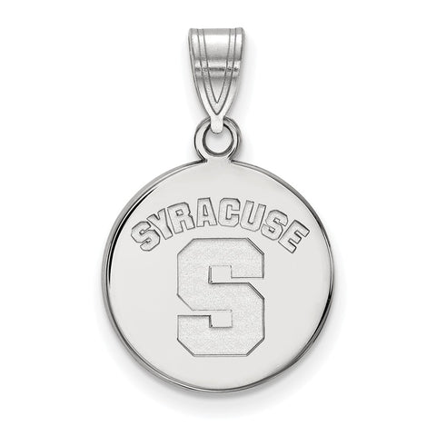 14kw LogoArt Syracuse University Medium Disc Pendant