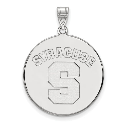 14kw LogoArt Syracuse University XL Disc Pendant