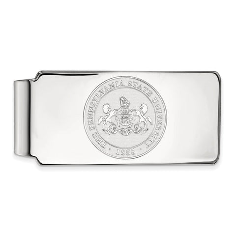10kw LogoArt Penn State University Money Clip Crest