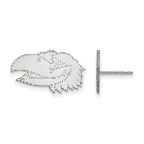 10kw LogoArt University of Kansas Small Post Earrings