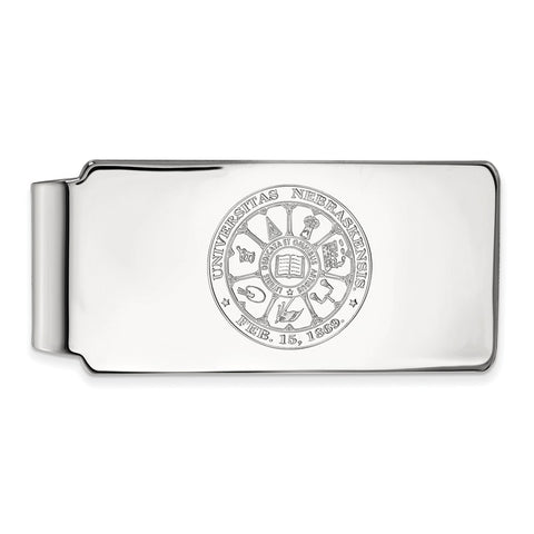 10kw LogoArt University of Nebraska Money Clip Crest