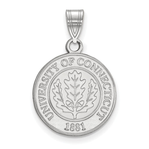 SS University of Connecticut Medium Crest Pendant