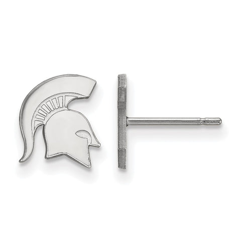 10kw LogoArt Michigan State University XS Post Earrings