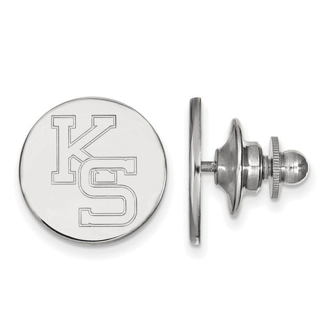 14kw LogoArt Kansas State University Lapel Pin
