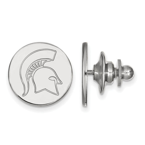 14kw LogoArt Michigan State University Lapel Pin
