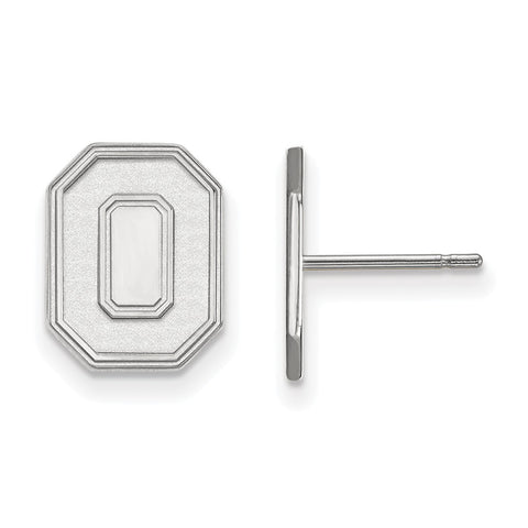 10kw LogoArt Ohio State University Small Post Earrings