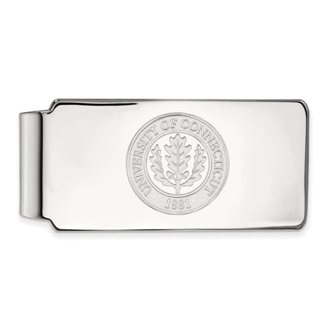 10kw University of Connecticut Money Clip Crest