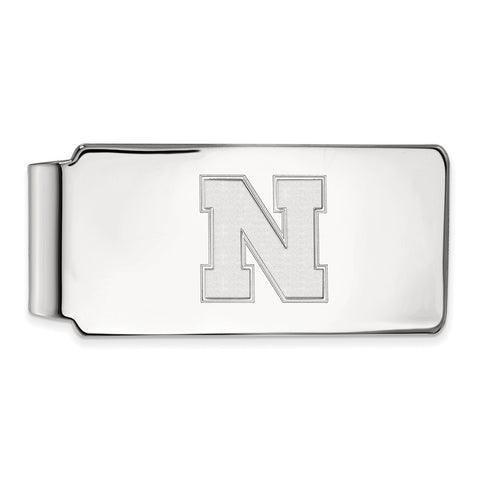 10kw LogoArt University of Nebraska Money Clip