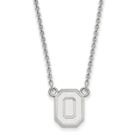 10kw LogoArt Ohio State University Small Pendant w/Necklace