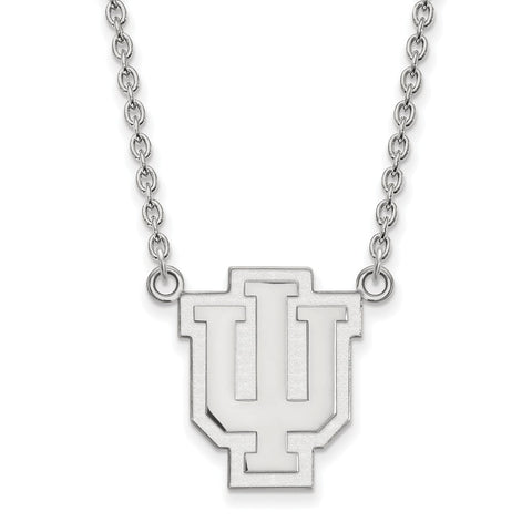 10kw LogoArt Indiana University Large Pendant w/Necklace