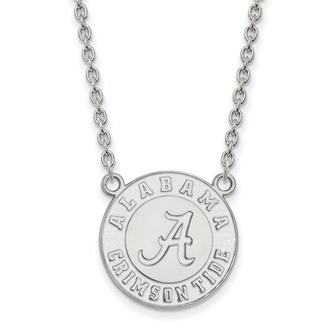 14kw LogoArt University of Alabama Large Pendant w/Necklace