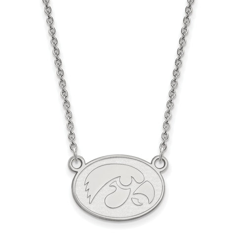 10kw LogoArt University of Iowa Small Pendant w/Necklace