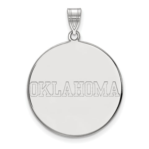 10kw LogoArt University of  Oklahoma XL Disc Pendant