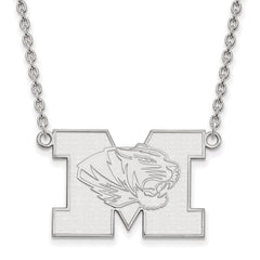 14kw LogoArt University of Missouri Large Pendant w/Necklace