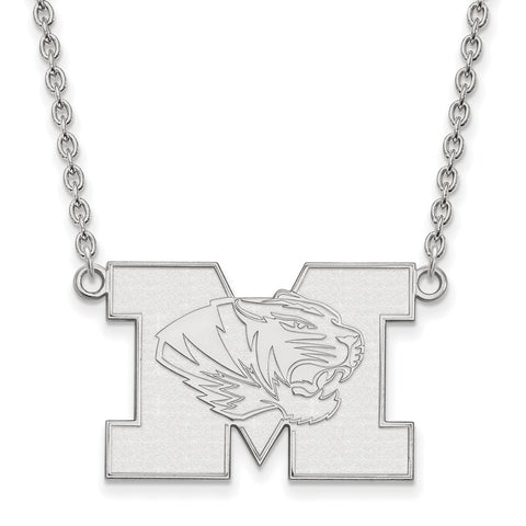 10kw LogoArt University of Missouri Large Pendant w/Necklace