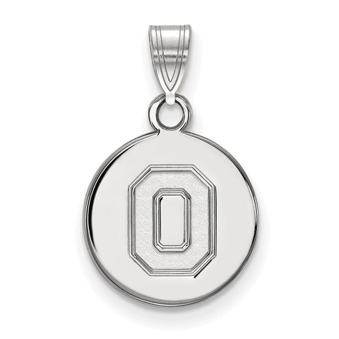 10kw LogoArt Ohio State University Small Disc Pendant