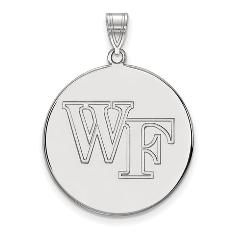 10kw LogoArt Wake Forest University XL Disc Pendant