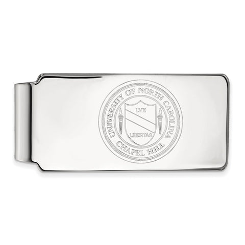 10kw LogoArt University of North Carolina Money Clip Crest