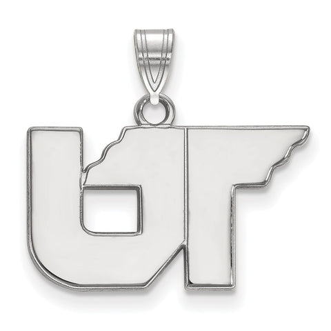 Sterling Silver LogoArt University of Tennessee Small Pendant