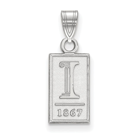 14kw LogoArt University of Illinois Small Pendant