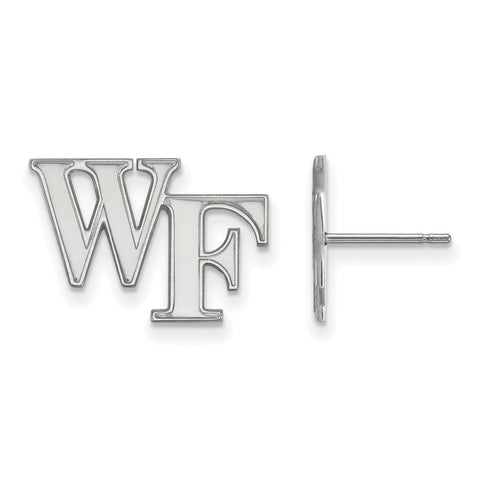 10kw LogoArt Wake Forest University Small Post Earringss