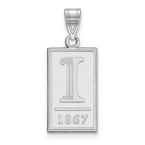 14kw LogoArt University of Illinois Large Pendant