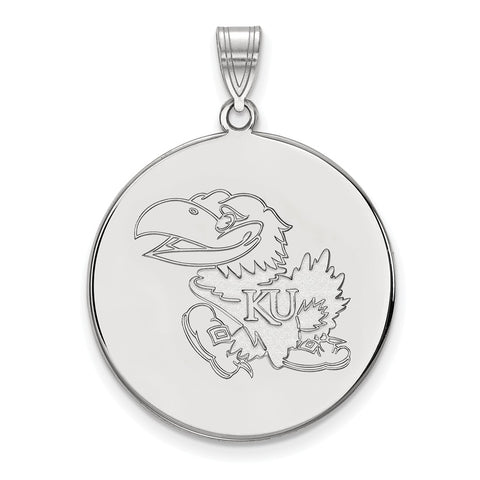 10kw LogoArt University of Kansas XL Disc Pendant