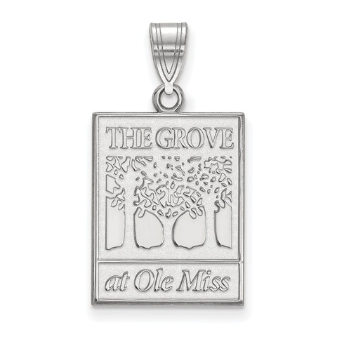 10kw LogoArt University of Mississippi Large Pendant