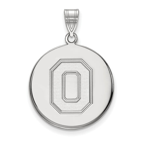 10kw LogoArt Ohio State University Large Disc Pendant