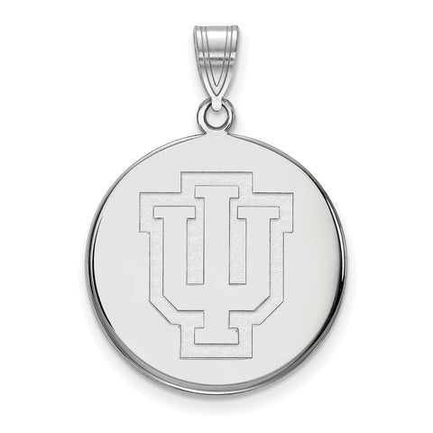 14kw LogoArt Indiana University Large Disc Pendant