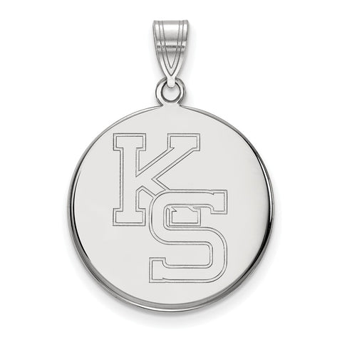 14kw LogoArt Kansas State University Large Pendant