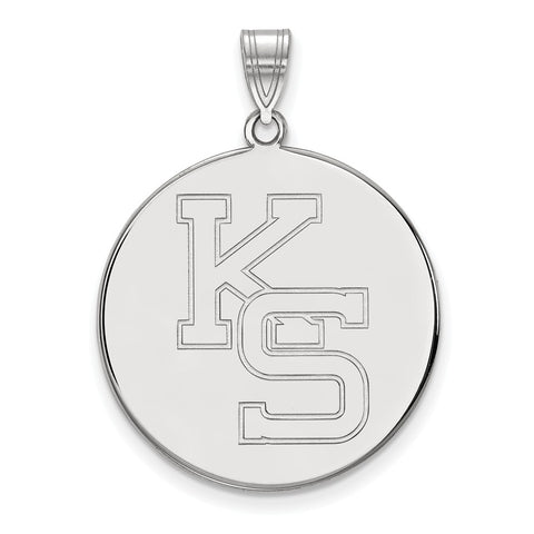 10kw LogoArt Kansas State University XL Disc Pendant