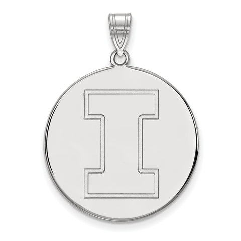 10kw LogoArt University of Illinois XL Disc Pendant