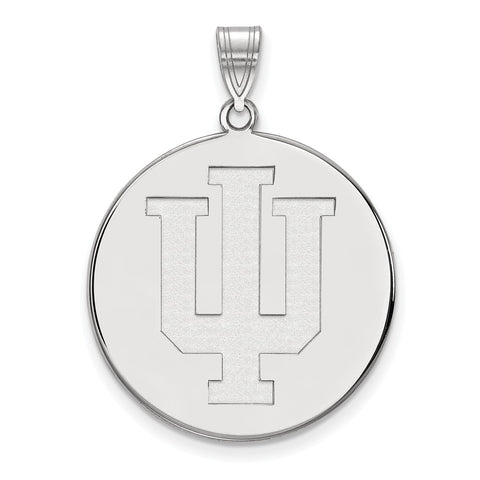 14kw LogoArt Indiana University XL Disc Pendant
