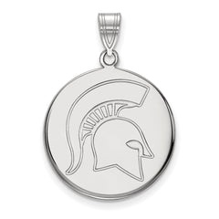 10kw LogoArt Michigan State University Large Disc Pendant