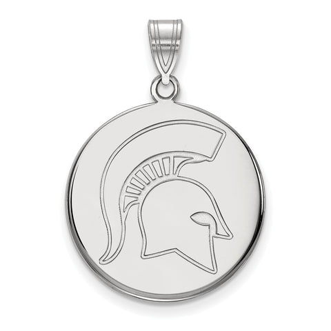 14kw LogoArt Michigan State University Large Disc Pendant