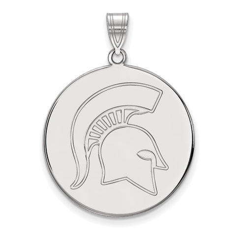 10kw LogoArt Michigan State University XL Disc Pendant