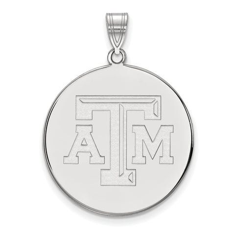 10kw LogoArt Texas A&M University XL Disc Pendant