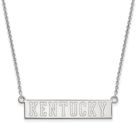 14kw LogoArt University of Kentucky Small Pendant w/Necklace