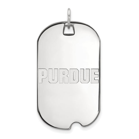 10kw LogoArt Purdue University Large Dog Tag