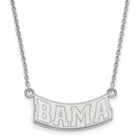 14kw LogoArt University of Alabama Small Pendant w/Necklace