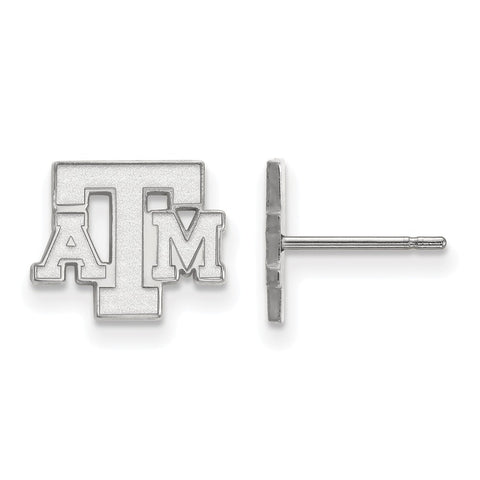 10kw LogoArt Texas A&M University XS Post Earrings