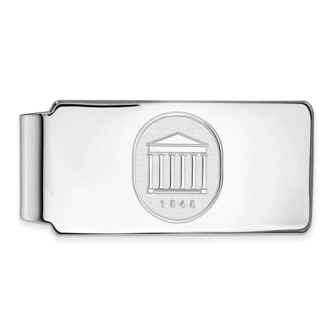 10kw LogoArt University of Mississippi Money Clip Crest