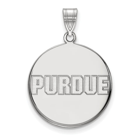 14kw LogoArt Purdue University Large Disc Pendant