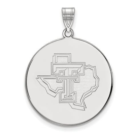 14kw LogoArt Texas Tech University XL Disc Pendant
