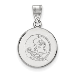 10kw LogoArt Florida State University Medium Disc Pendant